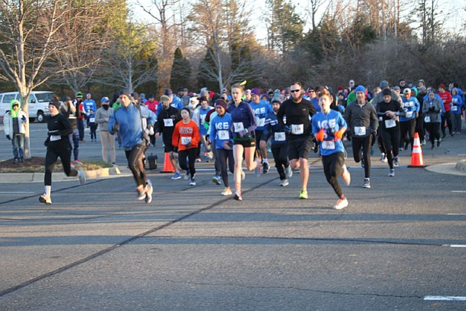 The race was on for the 5th Annual Ice Breaker Family Fun 5K held Sunday, March 11.