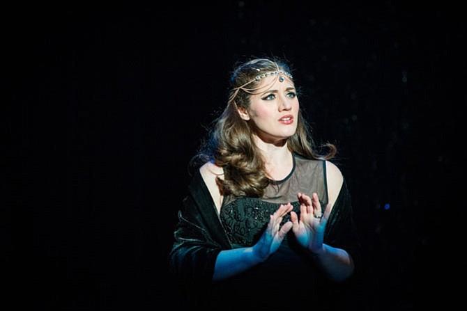 "Claire O'Brien Jeffrey in Reston Community Players' ""Aida."""