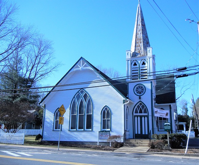 Free tours of two churches will be offered as an added feature for the Clifton Homes Tour on Friday, May 18.  Clifton Baptist Church was built in 1910.