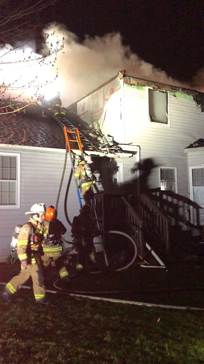 Fire caused approximately $147,500 in damage.