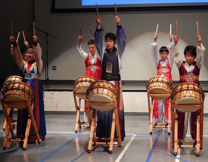 Precision drummers from the JUB Cultural Center.
