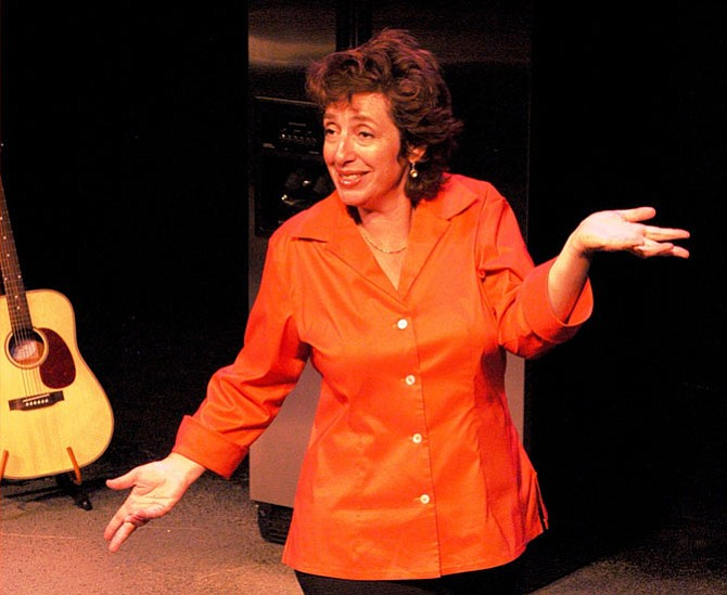Deb Filler will be performing her show April 13-29 at MetroStage in Alexandria.