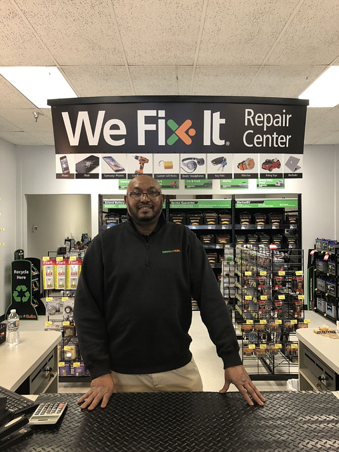 Batteries Plus Bulbs store owner Zuhair Ibrahim is looking forward to bettering the local community with the presence of the new neighborhood retailer.