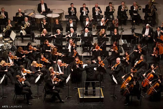 The Fairfax Symphony Orchestra.