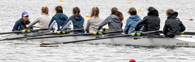 TC Women's Light 8 Boat.