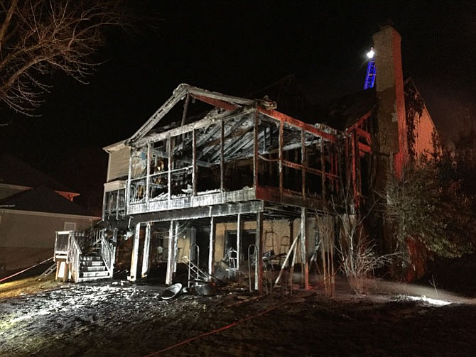 Damages as a result of the fire are approximately $202,500.