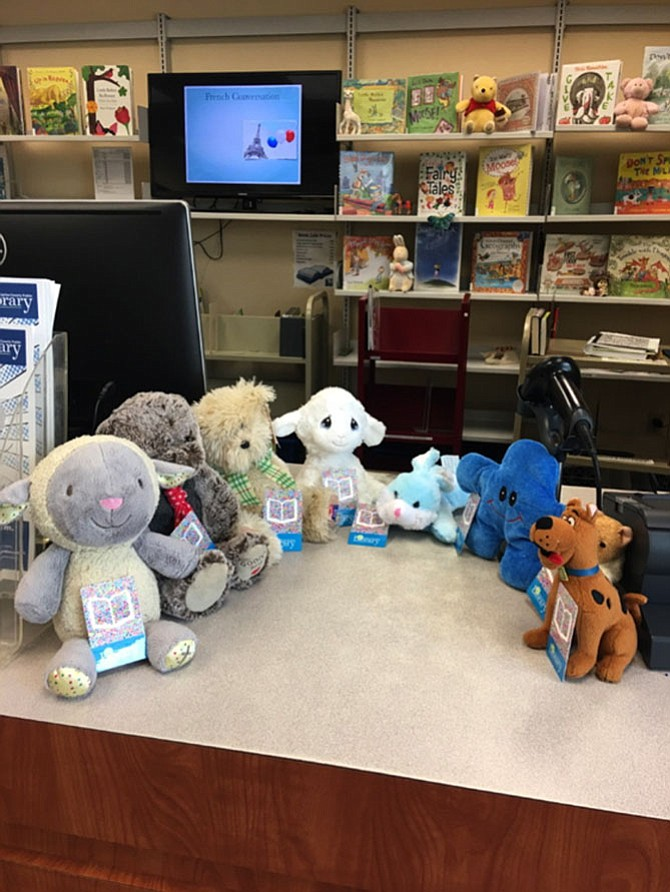 On April 4, a handful of children came into Great Falls Library to drop off their favorite stuffed animals for a sleepover.