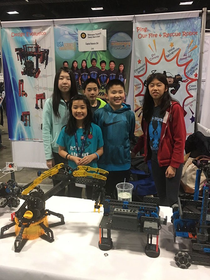 The team at the US Science & Engineering Festival.