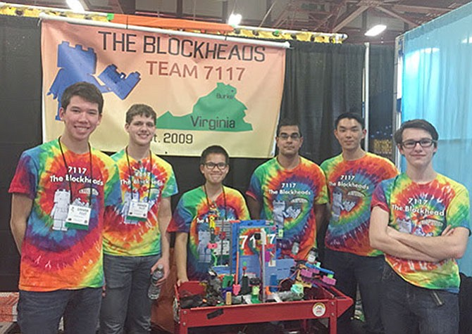 Blockheads are heading to Detroit to compete against teams from 20 countries for FIRST Championships.