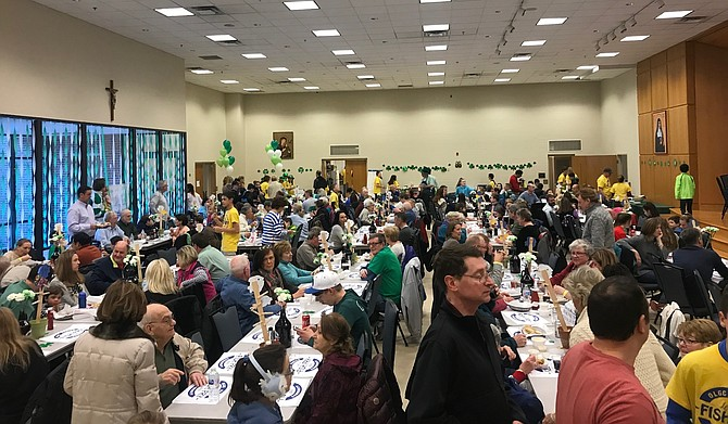 OLGC second Annual Fish Fry served four thousand meals.