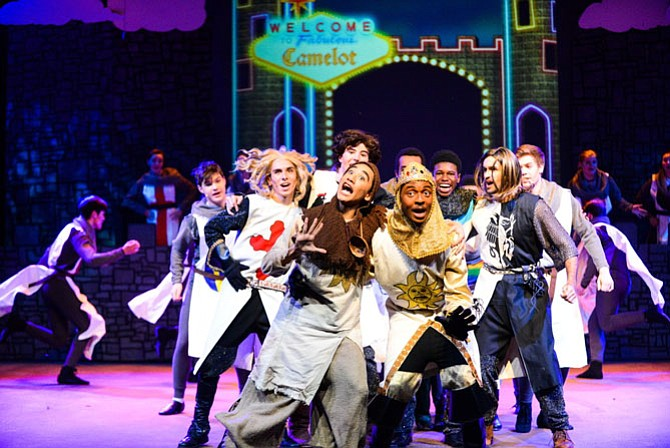 'Spamalot' runs May 3 to May 5, 7 p.m. to 10 p.m. at Robinson High School.