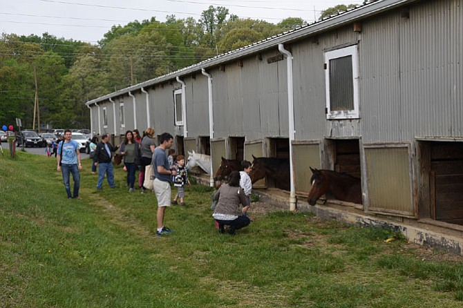 The Potomac Horse Center held an open house on Sunday, May 4, with horse rides, hay rides, food, and face painting.The Friends of Potomac Horse Center are embarking on a capital campaign to raise $1 million over the next 10 years to repair, rebuild, and upgrade the center's facilities.