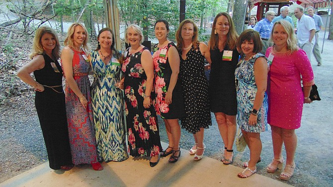 The NDWC 50th Anniversary celebration committee members.