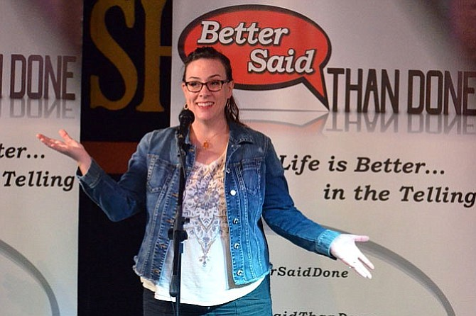 "Jessica Robinson, ""Better Said Than Done"" founder and storyteller."