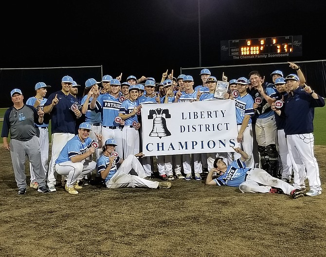 The Yorktown baseball team beat South Lakes 4-3 on Saturday to win the Liberty District championship.