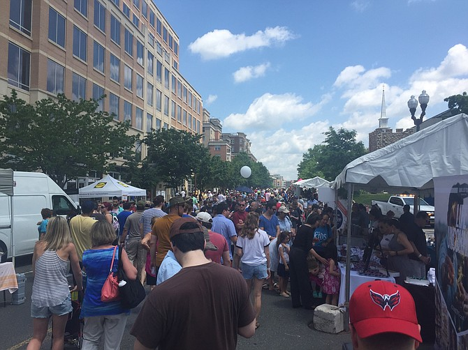 Taste of Arlington, hosted by the Ballston BID, raises funding for local charities like the Arlington Food Assistance Center and the Arlington Street People's Assistance Network.
