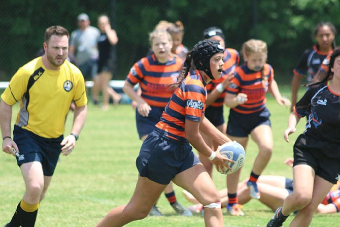 The SYC Girls High School Rugby Team placed fifth in the country this past weekend in Murfreesboro, Tenn. This year, the team will have 12 graduating seniors and every single girl will be playing rugby in college next year.