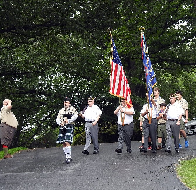 Burke VFW Post 5412 held their annual Memorial Day Ceremony on the grounds of the Burke Centre Conservancy.