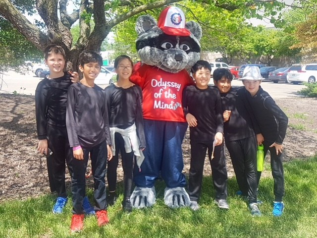Forestville Elementary team includes students Yona Sankar, Zachary Ulman, Jibran Salam, Justin Kim, Allison Zhan, and Peter Popenko.