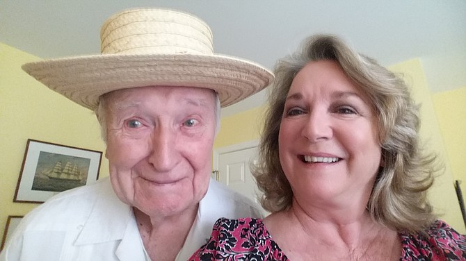 My Dad is 96 years old, Louis Dwyer. I am his daughter, Esme Dwyer Frensilli, living in Avenel. Going to search for Easter eggs!