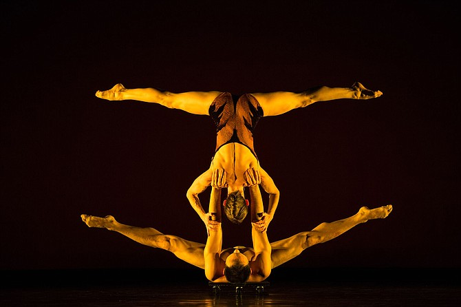 MOMIX, a troupe that fuses dance with illusion.