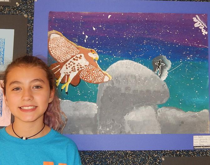 Joella Cabrera, Centreville Elementary, 6th grade.