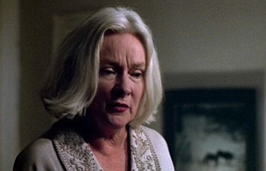 "Lois Kelso Hunt as Mrs. Slater in the 1983 film ""The House on Sorority Row."""