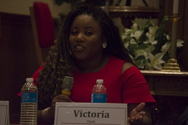 Victoria Clark of the Northern Virginia Urban League, Young Professionals Network.