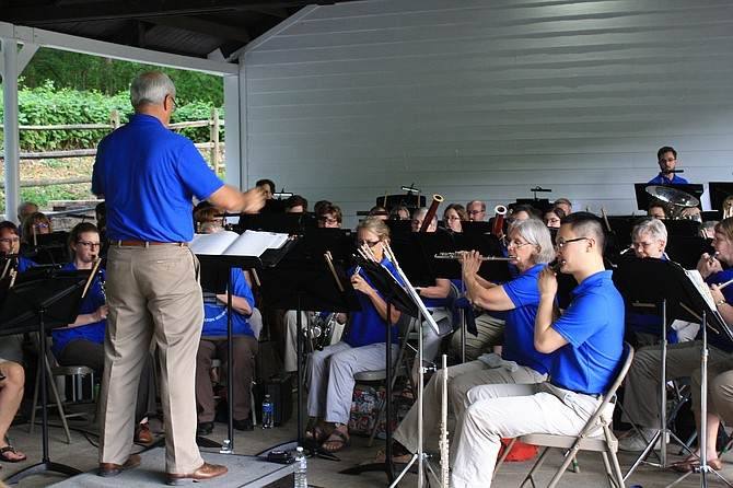 The Main Street Community Band kicked off Braddock Nights.