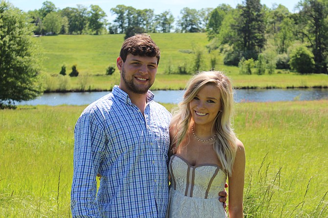 Victoria Leigh Van Horne and Austin Taylor Motter.