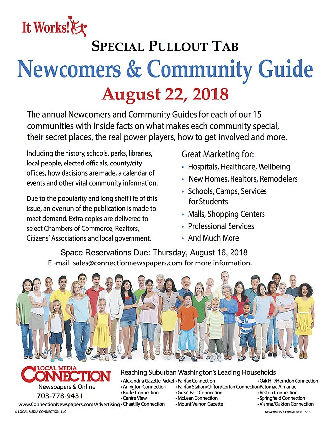 Our award-winning annual Special Pullout Newcomers and Community Guides for each of our 15 communities with inside facts on what makes each community special, their secret places, the real power players, how to get involved and more will publish on August 22, 2018.