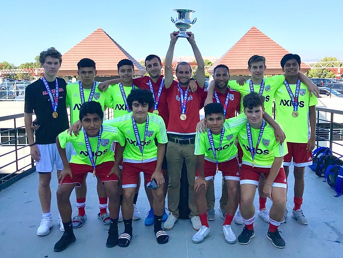 ASA U16 Boys Futsal.