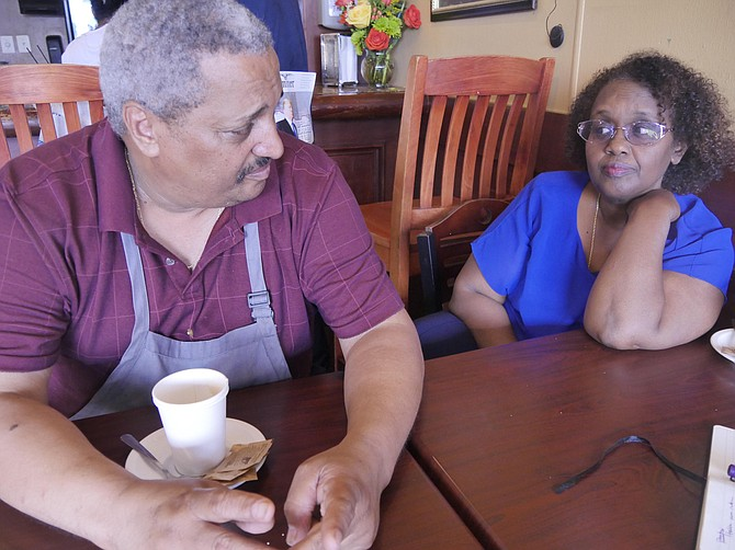 Hailu Dama and his wife, Amsale Saife, recall opening their carry-put Ethiopian business 22 years ago on Columbia Pike.