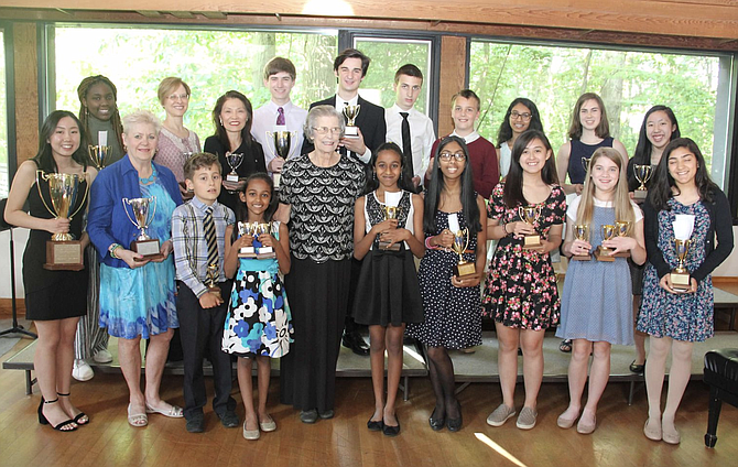 Marilynne Jost and her students at their Spring Recital earlier this year.