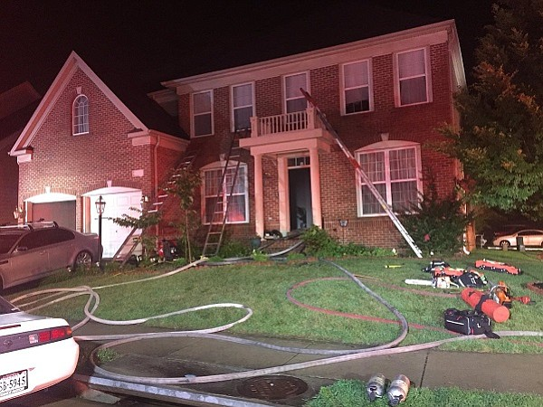 Fire Investigators determined that the fire was caused by a lightning strike.