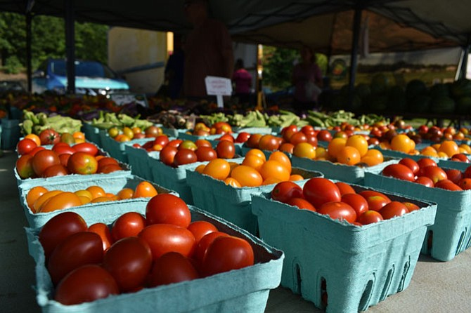 """You might pay a little bit more for your produce here, but you pay for your whole health in the long run, I think,"" Fairfax County Farmers Market Coordinator Chelsea Roseberry said. ""You actually are getting more for what you're paying, in my opinion."""