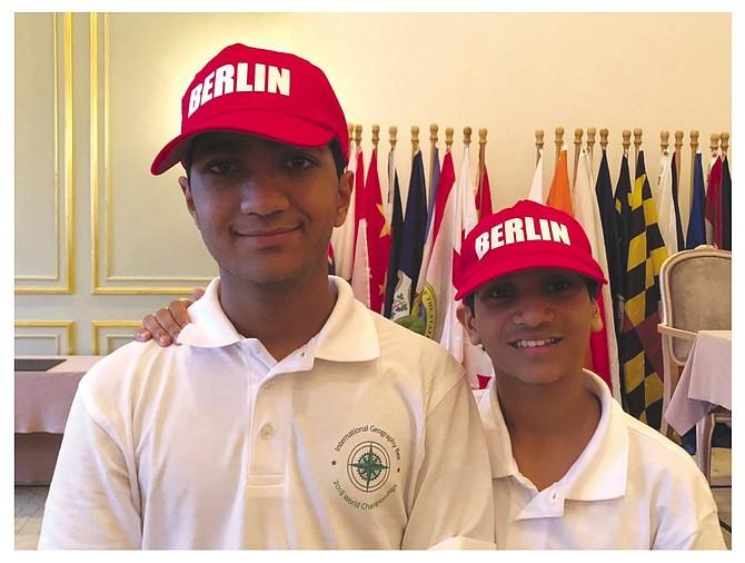 Rohil and Samik Bhinge (ages 14 and 13).