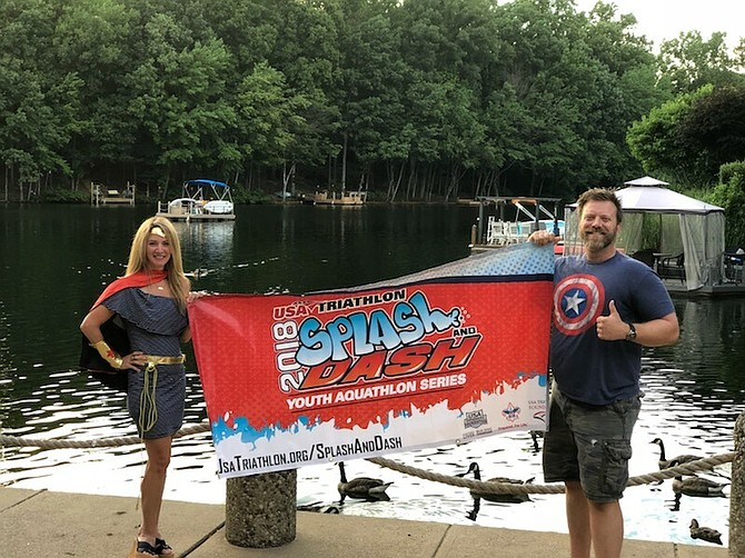 Registration is open for the newest young triathlete experience, the 2018 Reston Youth Splash and Dash, a swim-run non-competitive event for children 6-15 on Aug. 26 at the pool at Lake Audubon and on nearby paths.