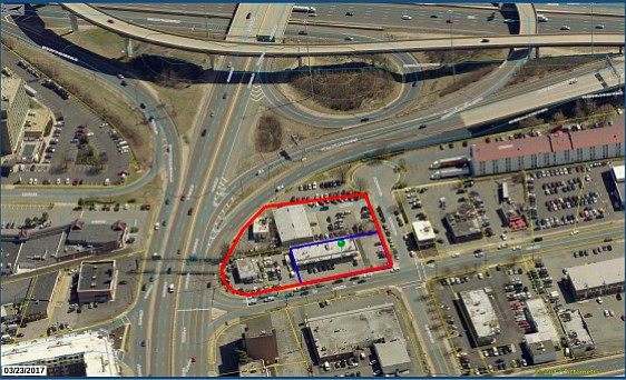 Supervisors approved a Hampton Inn Suites on Backlick Road, which will be the last impression motorists have of Springfield.