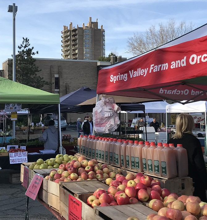The Reston Farmers Market at Lake Anne begins its season in early May and runs until December 1st.