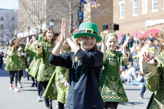 Proceeds from the Alexandria Irish Festival, including this year's auction items, will go to support the 2019 St. Patrick's Day Parade.