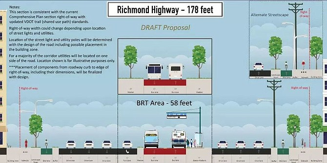 Ten years from now, Richmond Highway will be transformed.