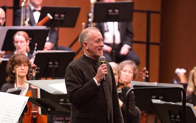 Alexandria Symphony Orchestra Music Director James Ross.