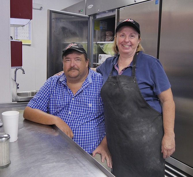 Jim and Dorothy Breeding manage Al's Steak House, which is owned by their daughter who is currently in medical school.