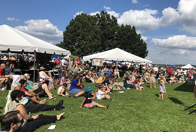 Thousands turned out to celebrate at the Alexandria Irish Festival Aug. 25 at Waterfront Park.