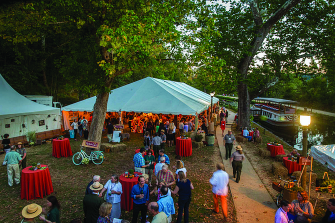 """Park After Dark"" attracts supporters of the C&O Canal National Park."