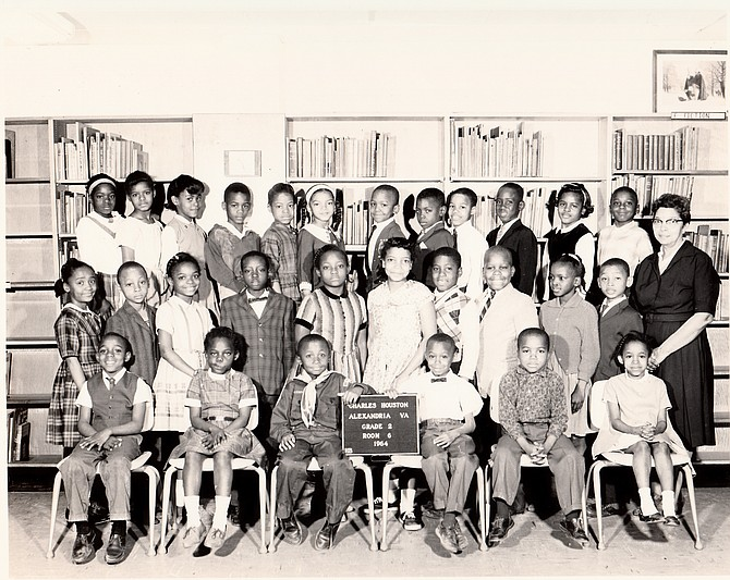Ellen Carter-Goods, 1964 Class at Charles Houston Elementary School.