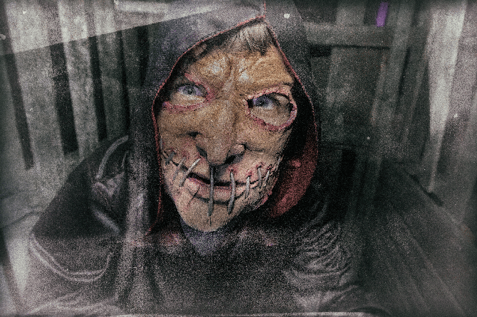 Madhaunter's Madhouse haunted trail returns to the Workhouse on select nights from Oct. 5 – 31, 2018.