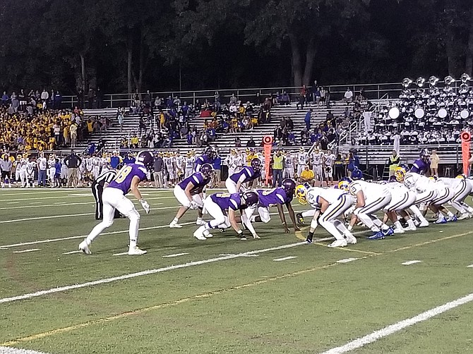 The Lake Braddock defense has shut out its last three opponents.