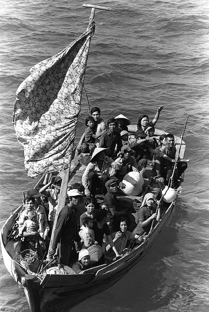 Vietnam refugees.